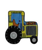 RugStudio presents Fun Rugs Fun Time Shape Tractor FTS-134 Multi Machine Woven, Good Quality Area Rug