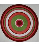 RugStudio presents Fun Rugs Fun Time Shape Concentric 3 FTS-151 Multi Machine Woven, Good Quality Area Rug