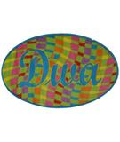 RugStudio presents Fun Rugs Fun Time Shape Diva FTS-158 Multi Machine Woven, Good Quality Area Rug