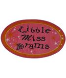 RugStudio presents Fun Rugs Fun Time Shape Little Miss Drama FTS-181 Multi Machine Woven, Good Quality Area Rug