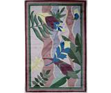 RugStudio presents Fun Rugs Jade Reynolds Feathers JR-TSC-167 Multi Machine Woven, Good Quality Area Rug