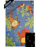 RugStudio presents Fun Rugs Night Flash NF-19 Multi Machine Woven, Good Quality Area Rug