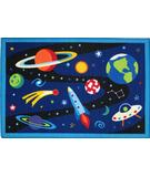 RugStudio presents Fun Rugs Olive Kids Out of This World OLK-019 Multi Machine Woven, Good Quality Area Rug