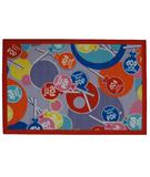 RugStudio presents Fun Rugs Tootsie Roll Tootsie Roll Pop TR-02 Multi Machine Woven, Good Quality Area Rug