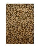 RugStudio presents Fun Rugs Supreme Leopard Skin TSC-048 Multi Machine Woven, Good Quality Area Rug