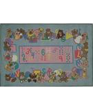 RugStudio presents Fun Rugs Supreme Teddies & Letters TSC-057 Multi Machine Woven, Good Quality Area Rug