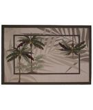RugStudio presents Fun Rugs Supreme Palm Fronds TSC-206 Multi Machine Woven, Good Quality Area Rug