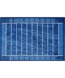 RugStudio presents Fun Rugs Supreme Gridiron TSC-209 Multi Machine Woven, Good Quality Area Rug