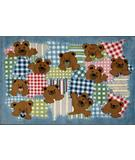 RugStudio presents Fun Rugs Supreme Patches TSC-249 Multi Machine Woven, Good Quality Area Rug