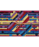 RugStudio presents Fun Rugs Supreme Psuedio TSC-250 Multi Machine Woven, Good Quality Area Rug