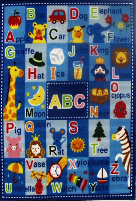 Fun Rugs Fun Rugs Fun Time Letters Names Ft 95 Multi