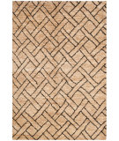 RugStudio presents Ralph Lauren Clayton LRL3223A Natural / Charcoal Hand-Knotted, Better Quality Area Rug