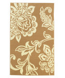 RugStudio presents Linon Capri Bc90 Beige / White Machine Woven, Good Quality Area Rug