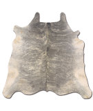 RugStudio presents Linon Cowhide Ch01 Light Brindle Area Rug