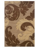 RugStudio presents Linon Corfu Cu08 Tan / Brown Machine Woven, Good Quality Area Rug