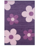RugStudio presents Linon Corfu Cu14 Purple / Pink Machine Woven, Good Quality Area Rug