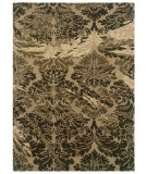 RugStudio presents Linon Florence Fl03 Taupe / Olive Hand-Tufted, Good Quality Area Rug