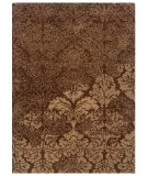 RugStudio presents Linon Florence Fl04 Brown / Beige Hand-Tufted, Good Quality Area Rug
