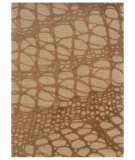 RugStudio presents Linon Florence Fl05 Ivory / Pale Gold Hand-Tufted, Good Quality Area Rug