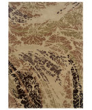 RugStudio presents Linon Florence Fl06 Beige / Brown Hand-Tufted, Good Quality Area Rug