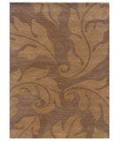 RugStudio presents Linon Florence Fl07 Beige / Gold Hand-Tufted, Good Quality Area Rug