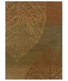 RugStudio presents Linon Florence Fl13 Olive / Beige Hand-Tufted, Good Quality Area Rug