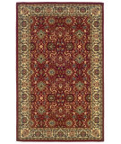 RugStudio presents Linon Gem Hereke Red / Ivory Machine Woven, Good Quality Area Rug