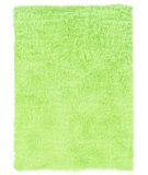 RugStudio presents Linon Faux Sheepskin Green Area Rug