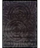RugStudio presents Linon Links Lk01 Charcoal Hand-Tufted, Good Quality Area Rug