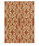 RugStudio presents Linon Le Soleil Ls02 Ivory - Terracotta Hand-Tufted, Good Quality Area Rug