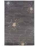 RugStudio presents Linon Milan Mn09 Grey / Ivory Machine Woven, Good Quality Area Rug