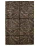 RugStudio presents Linon Milan Mn23 Brown / Beige Machine Woven, Good Quality Area Rug