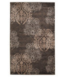 RugStudio presents Linon Milan Mn26 Brown / Beige Machine Woven, Good Quality Area Rug
