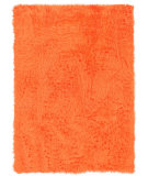 RugStudio presents Linon Faux Sheepskin Orange Area Rug