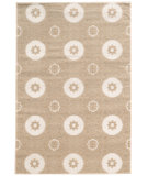 RugStudio presents Linon Prisma Pa11 Light Beige - White Machine Woven, Good Quality Area Rug