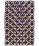 RugStudio presents Linon Salonika Sa12 Purple Area Rug