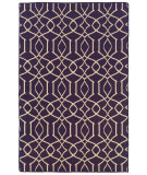 RugStudio presents Linon Salonika Sa16 Purple Area Rug