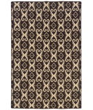 RugStudio presents Linon Salonika Sa19 Brown Area Rug
