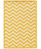 RugStudio presents Linon Silhouette Sh04 Yellow Area Rug