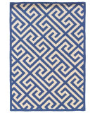 RugStudio presents Linon Silhouette Sh07 Navy Area Rug