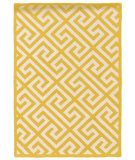 RugStudio presents Linon Silhouette Sh08 Yellow Area Rug