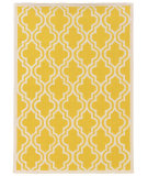 RugStudio presents Linon Silhouette Sh12 Yellow Area Rug