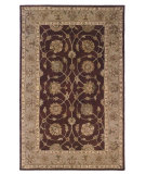 RugStudio presents Linon Rosedown Slsg21 Burgundy / Beige Hand-Tufted, Better Quality Area Rug