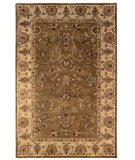 RugStudio presents Rugstudio Sample Sale 71382R Umber / Pale Gold Hand-Tufted, Better Quality Area Rug