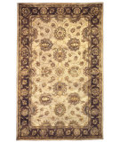 RugStudio presents Linon Rosedown Slsg25 Pale Gold / Chocolate Hand-Tufted, Better Quality Area Rug