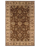 RugStudio presents Linon Rosedown Slsg28 Brown / Gold Hand-Tufted, Better Quality Area Rug
