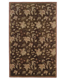 RugStudio presents Linon Ashton Slsg40 Chocolate / Brick Hand-Tufted, Better Quality Area Rug