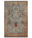 RugStudio presents Linon Rosedown Slww47 Ice Blue / Beige Hand-Tufted, Better Quality Area Rug