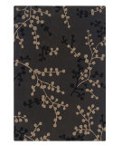 RugStudio presents Linon Trio Ta080 Charcoal / Beige Hand-Tufted, Good Quality Area Rug