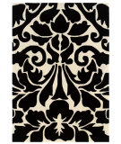 RugStudio presents Linon Trio Tab102 Black / White Area Rug